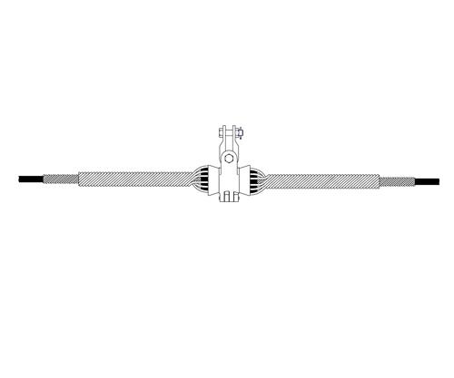 悬垂线夹,预绞式悬垂线夹,光缆金具悬垂线夹