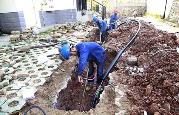 山东淄博电力工程公司OPLC光缆案例