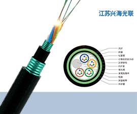 GYFTS53光缆 24芯GYFTS53光缆,非金属地埋光缆