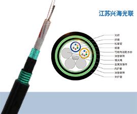 GYTZA53光缆 12芯GYTZA53光缆,重铠地埋光缆