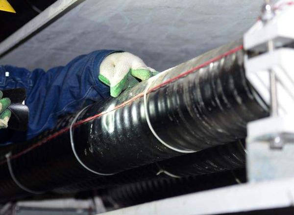 光纤测温主机设备应用于湖北某空调设备工程公司